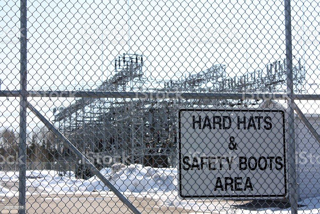 Hydro Substation stock photo