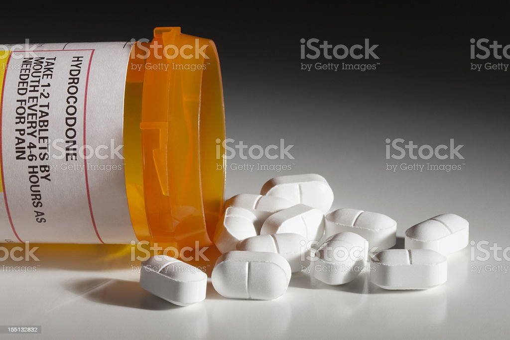 Hydrocodone Has Dark Side as Recreational Drug stock photo