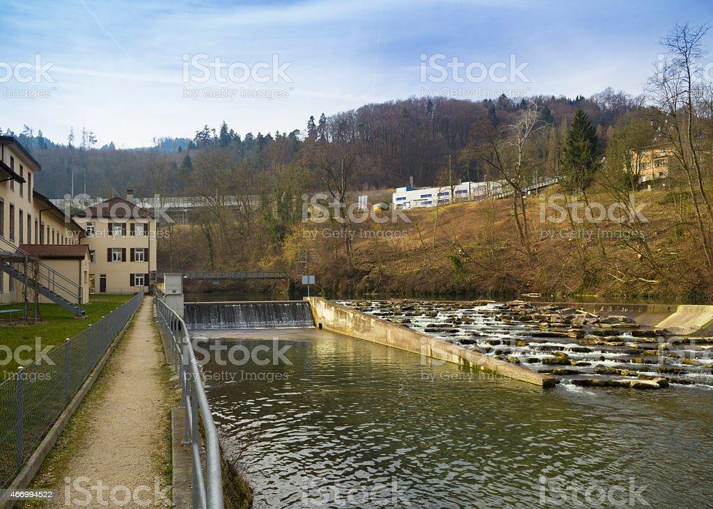 Hydroelectric Dam stock photo