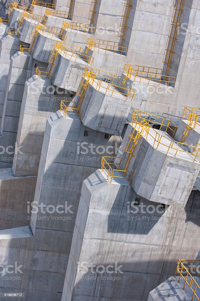 Hydroelectric Dam stock photo