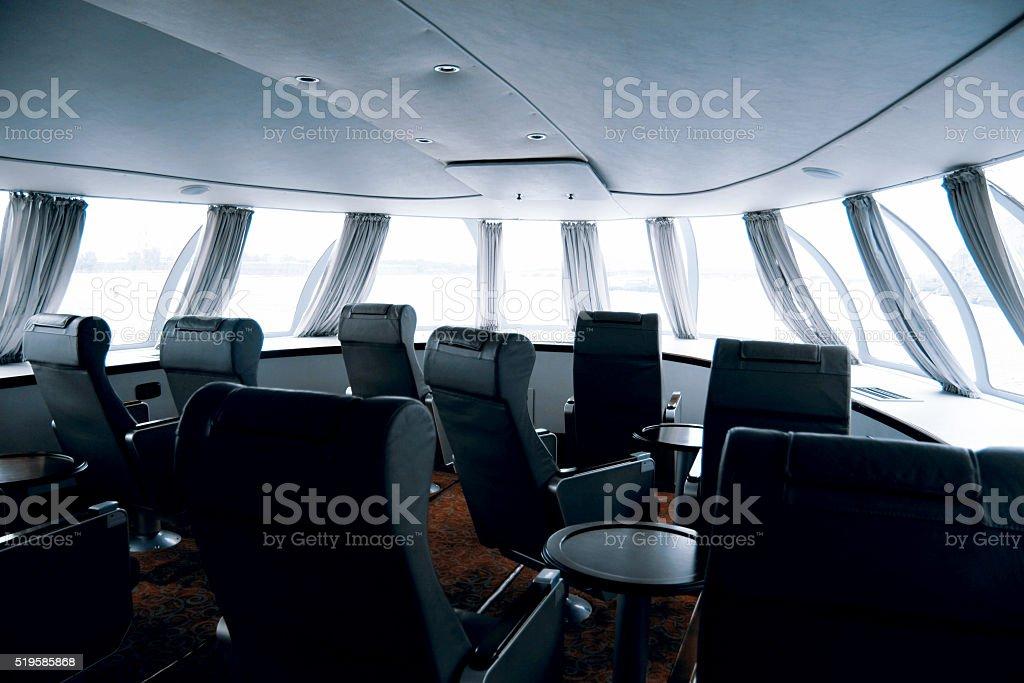 Hydrofoil, boat stock photo