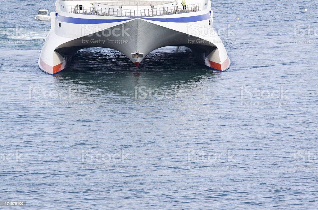 Hydrofoil Ferry stock photo