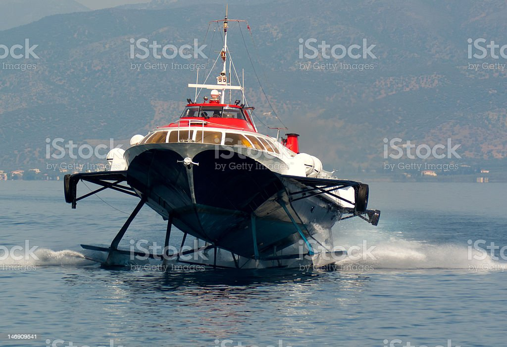 Hydrofoil stock photo