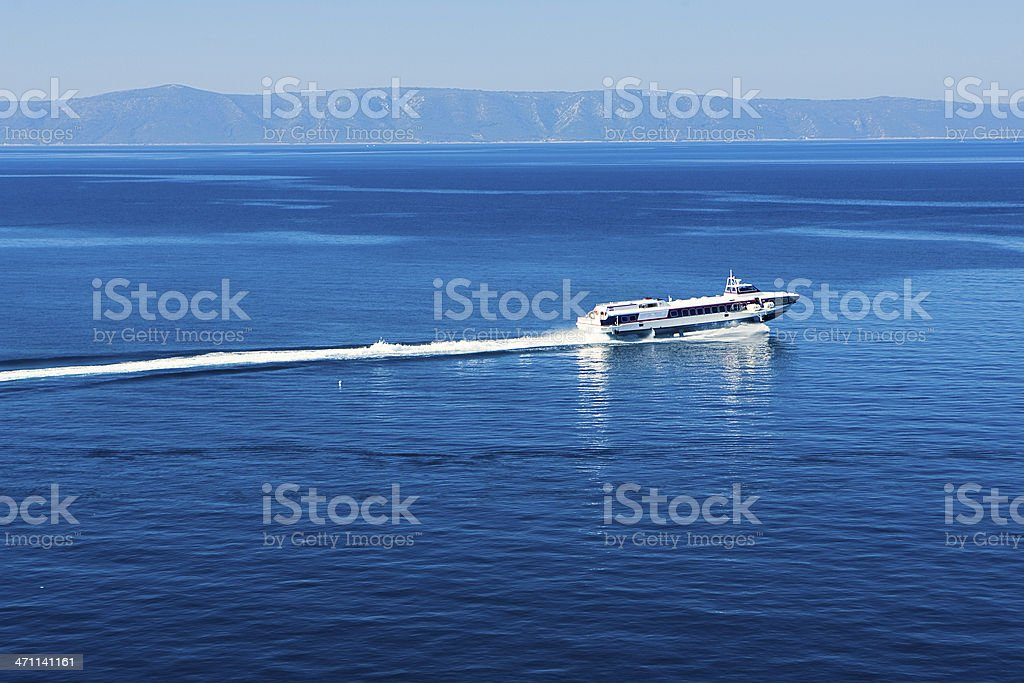 Hydrofoil royalty-free stock photo