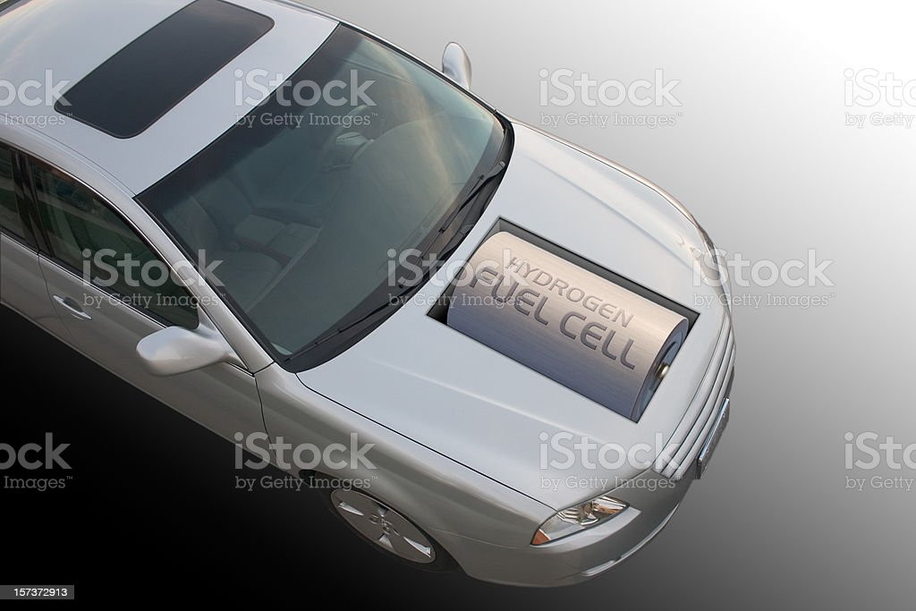 Hydrogen Fuel Cell Car stock photo