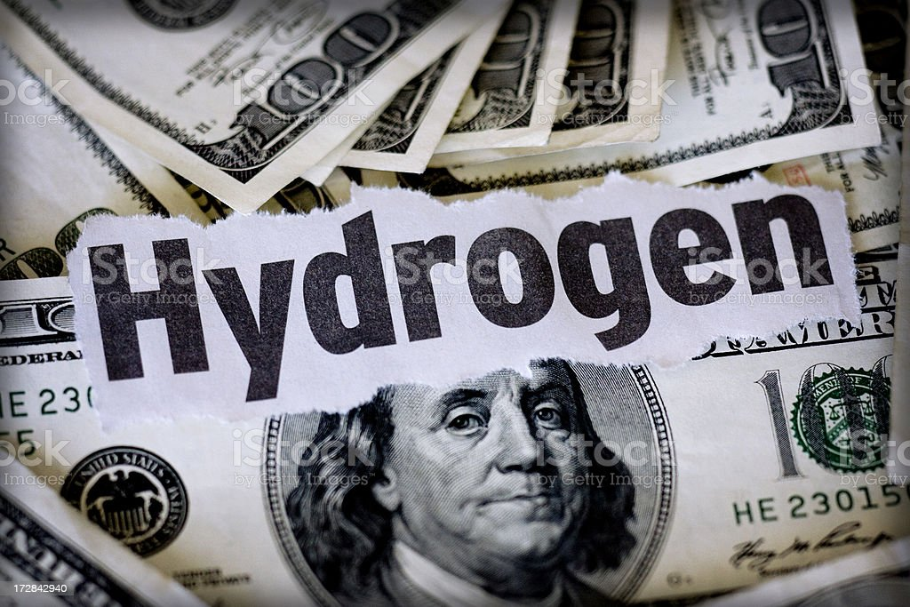 hydrogen royalty-free stock photo