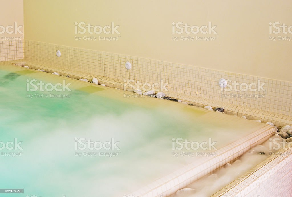Hydromassage Therapy, Spa Bathroom stock photo