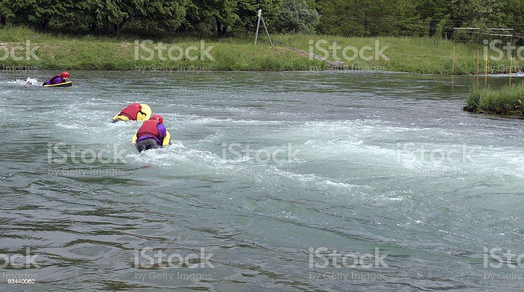 hydrospeed stock photo