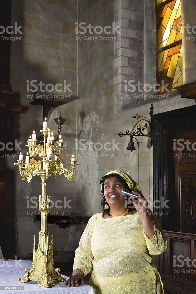 Hymn for the Lord royalty-free stock photo