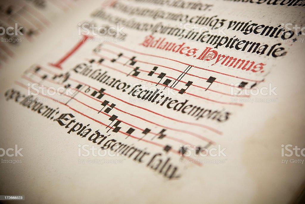 Hymnus royalty-free stock photo
