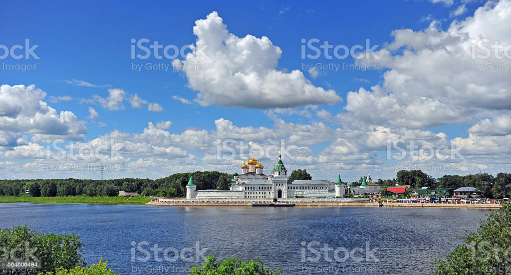 Hypatian monastery, Russia stock photo