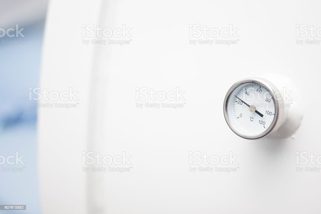 Hyperbaric oxygen therapy HBOT chamber stock photo