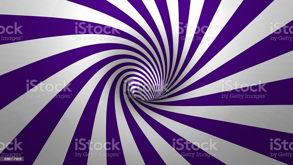 Hypnotic spiral – swirl stock photo