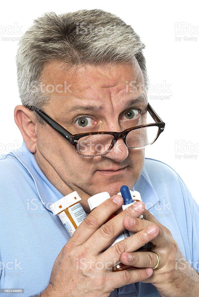 hypochondriac royalty-free stock photo