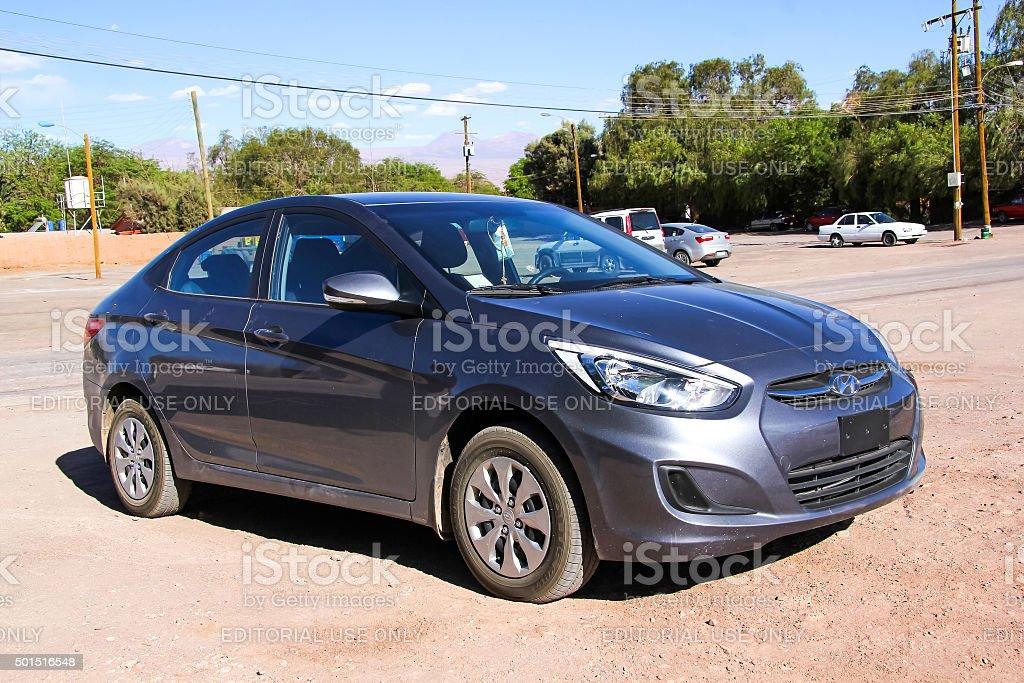 Hyundai Accent stock photo