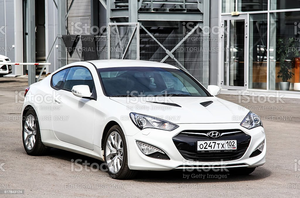 Hyundai Genesis stock photo
