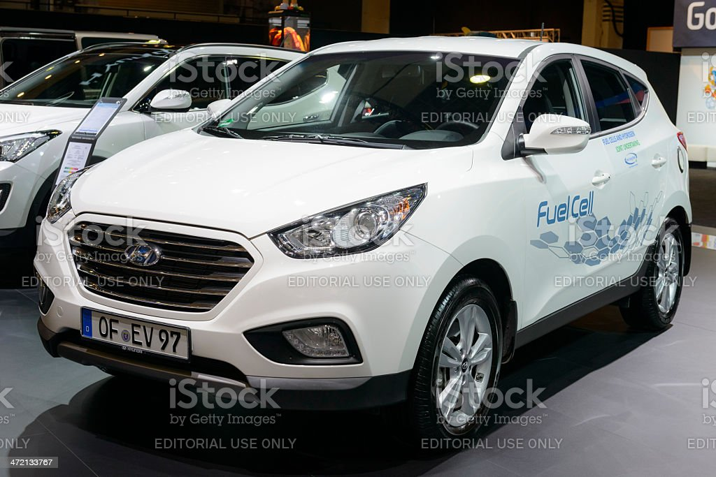 Hyundai ix35 Fuel Cell stock photo