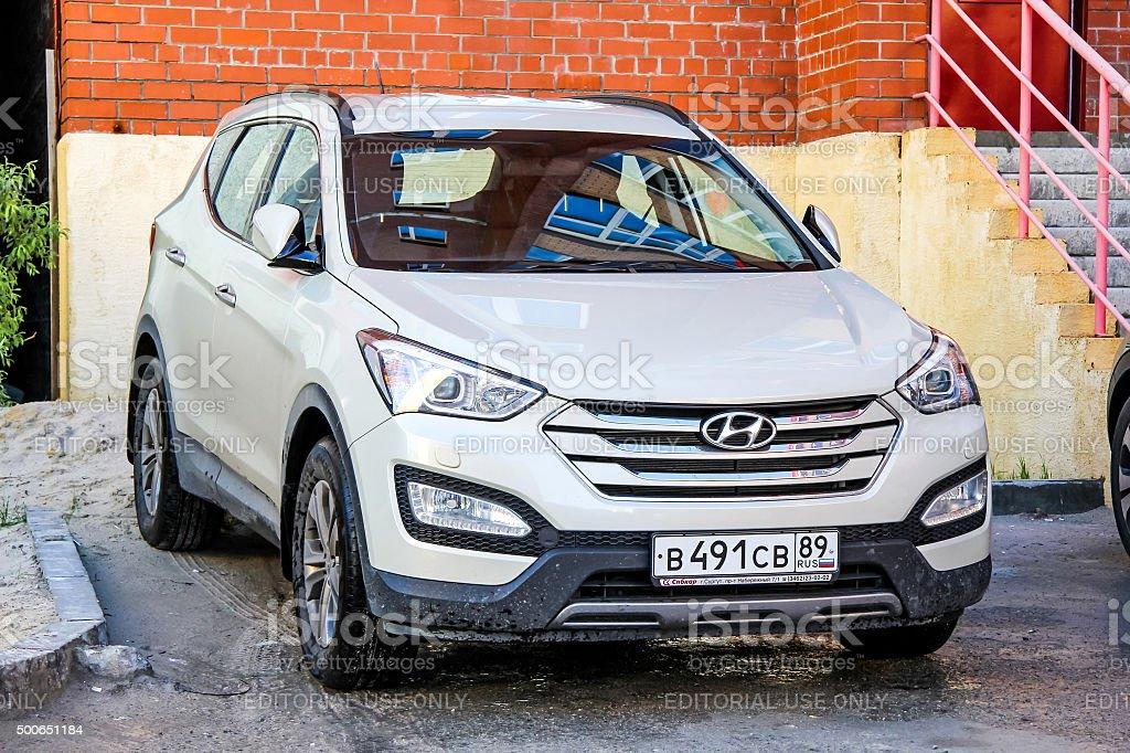 Hyundai Santa Fe stock photo