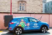 Hyundai Tucson, Official Partner car of UEFA trophy