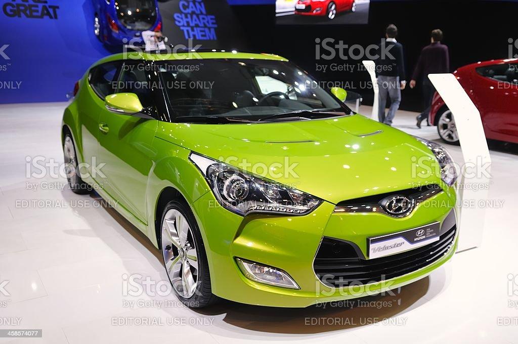 Hyundai Velostar royalty-free stock photo