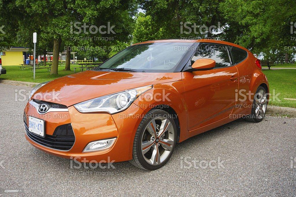 Hyundai Veloster royalty-free stock photo