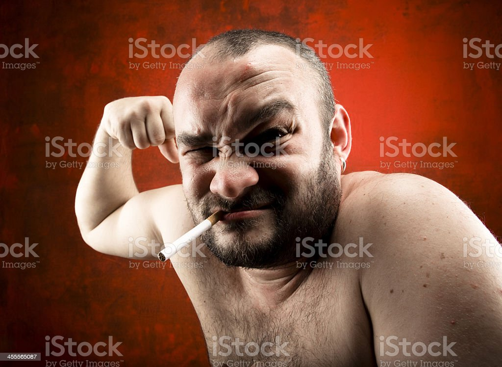 i am so strong!! royalty-free stock photo