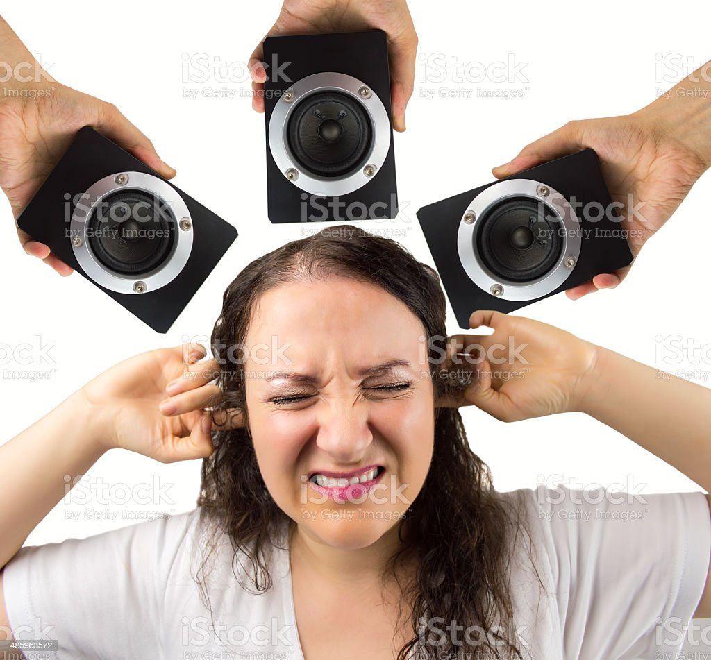 i don't like this sound stock photo