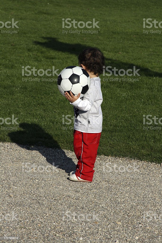 i have the ball royalty-free stock photo