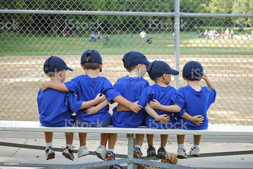 i love my team stock photo