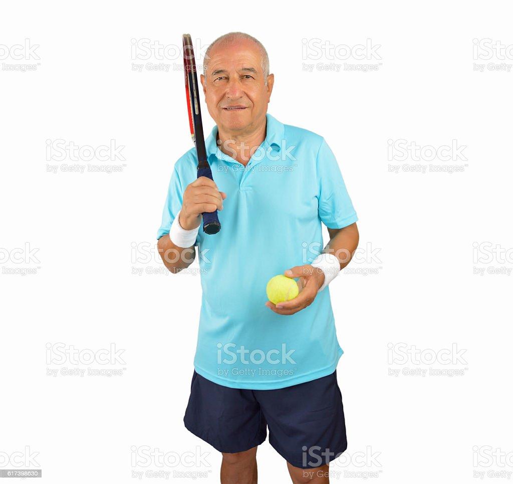 i love playing tennis stock photo