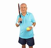 i love playing tennis