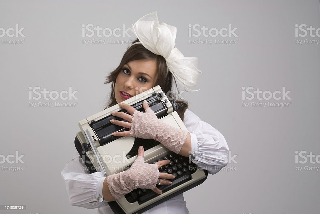 i love writing royalty-free stock photo