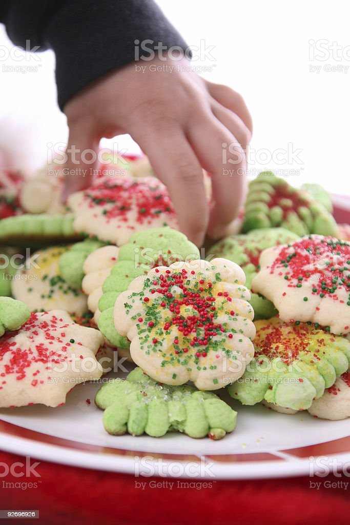 i want a cookie royalty-free stock photo