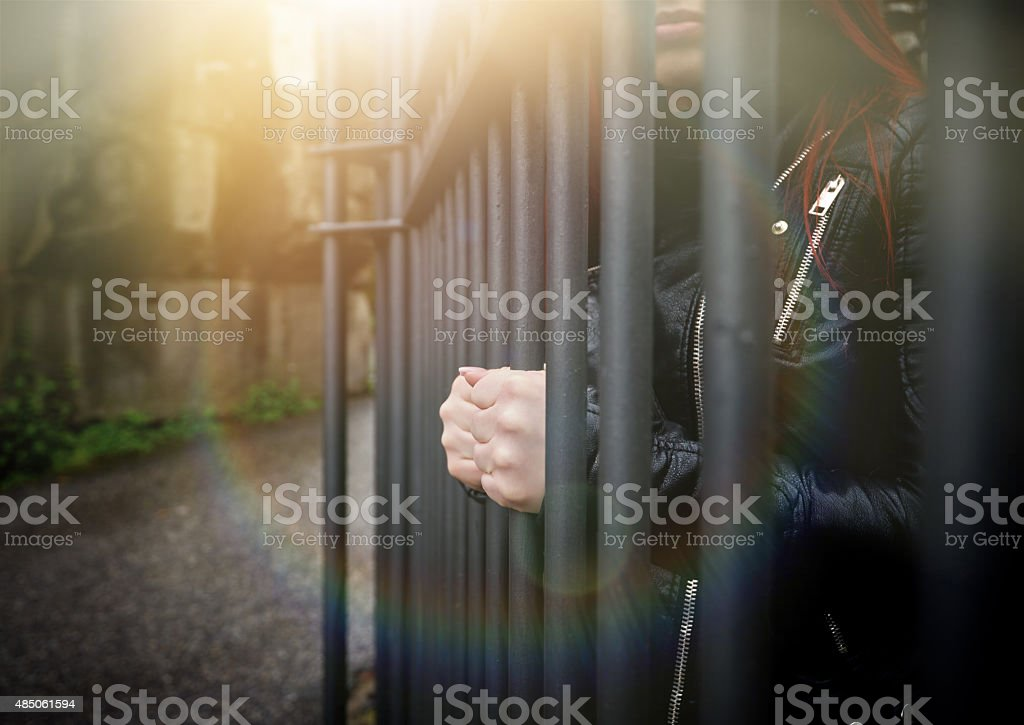 i want my freedom stock photo