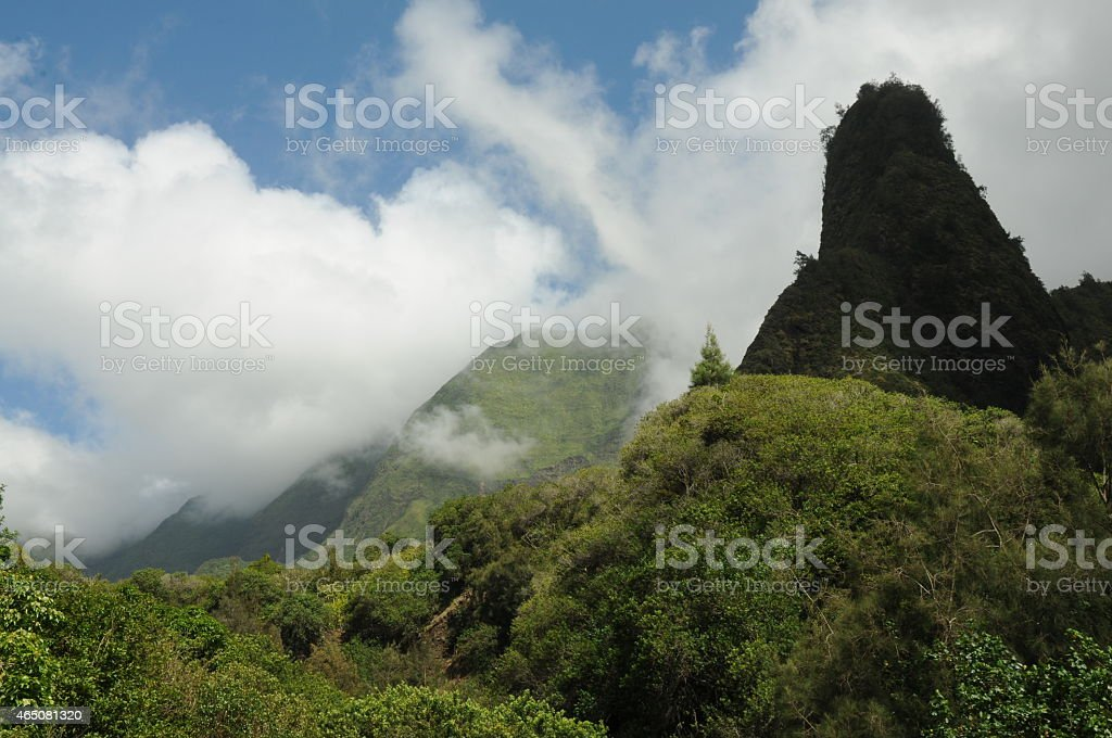 iao needle stock photo
