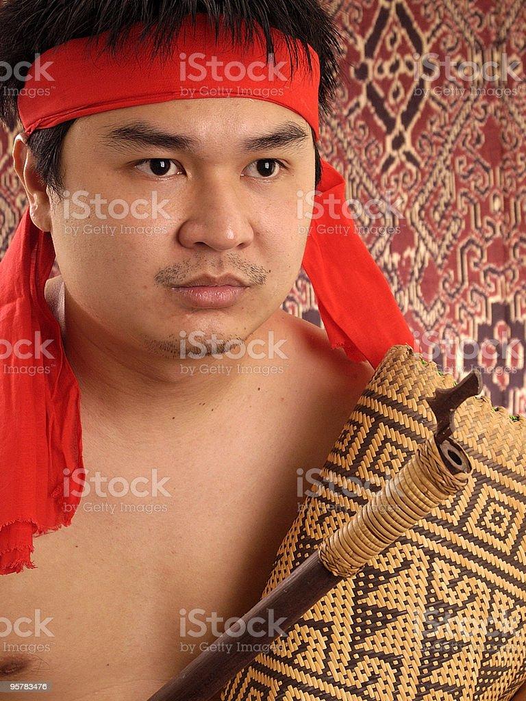 iban royalty-free stock photo
