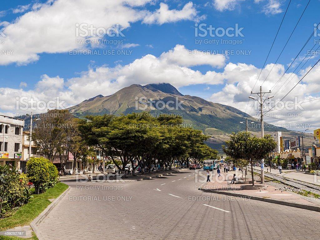 Ibarra, Ecuador royalty-free stock photo