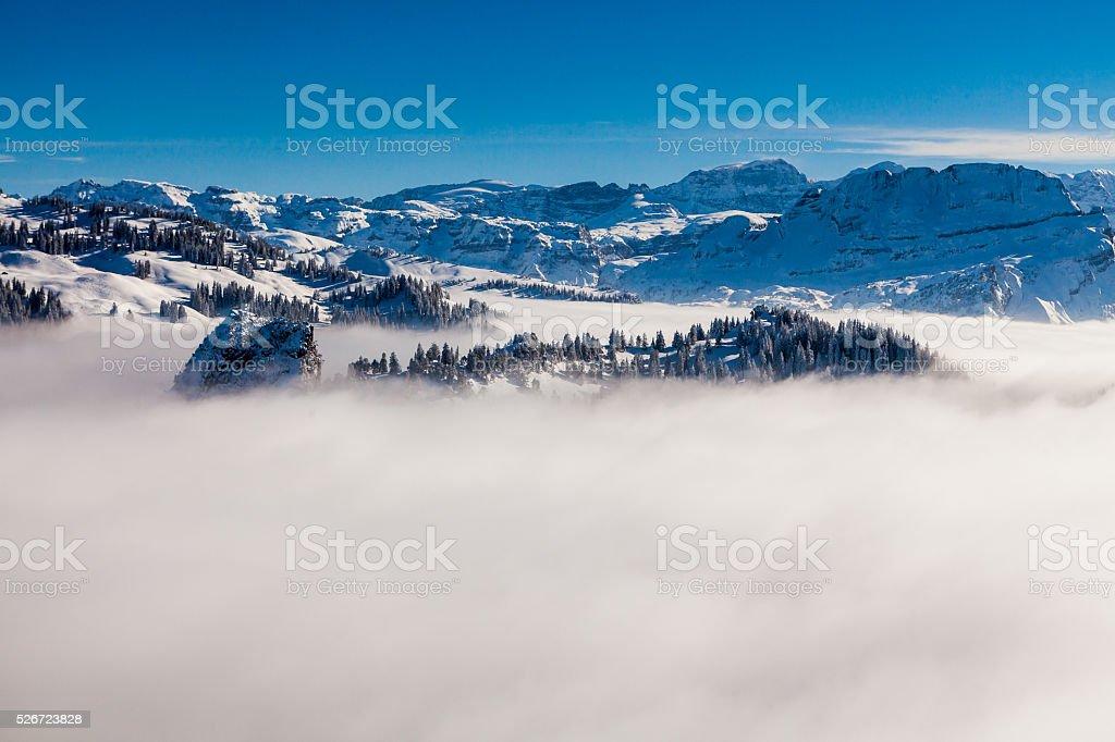 Ibergeregg in canton of  Schwyz, Switzerland stock photo