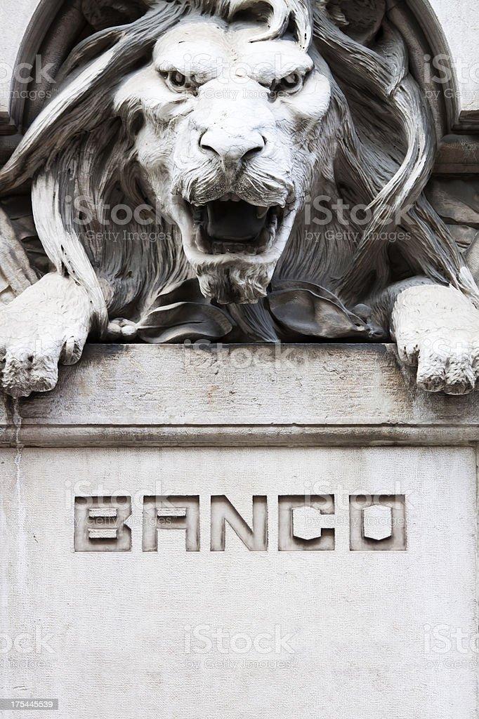Iberian Bank stock photo