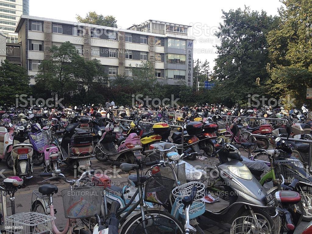 iBike Parking royalty-free stock photo