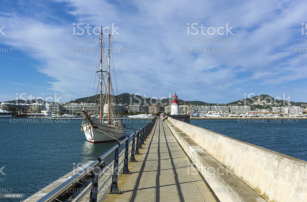 Ibiza royalty-free stock photo