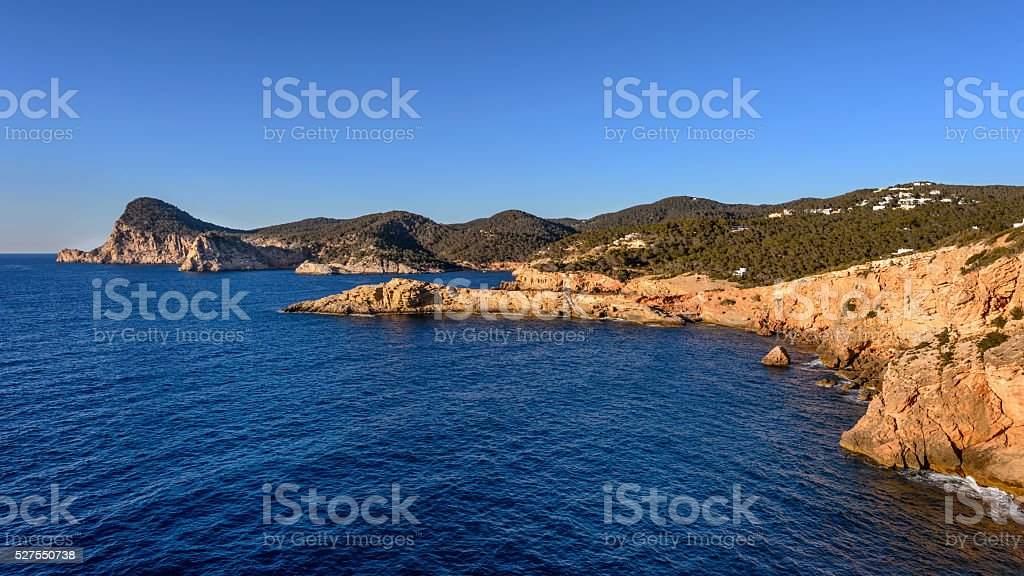 Ibiza West Coast stock photo