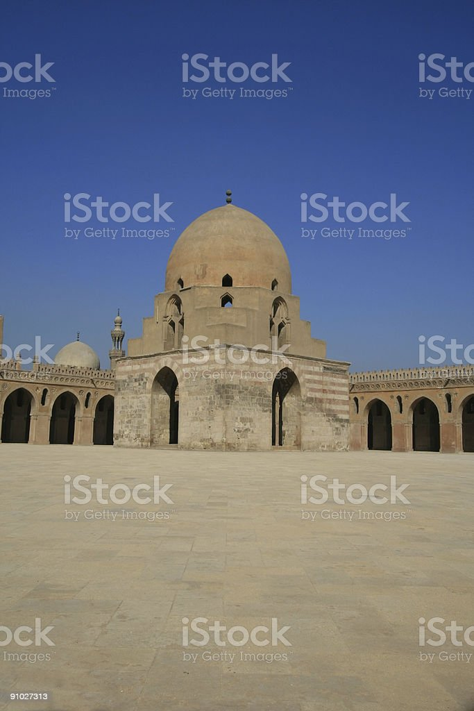 Ibn Tulun mosque royalty-free stock photo