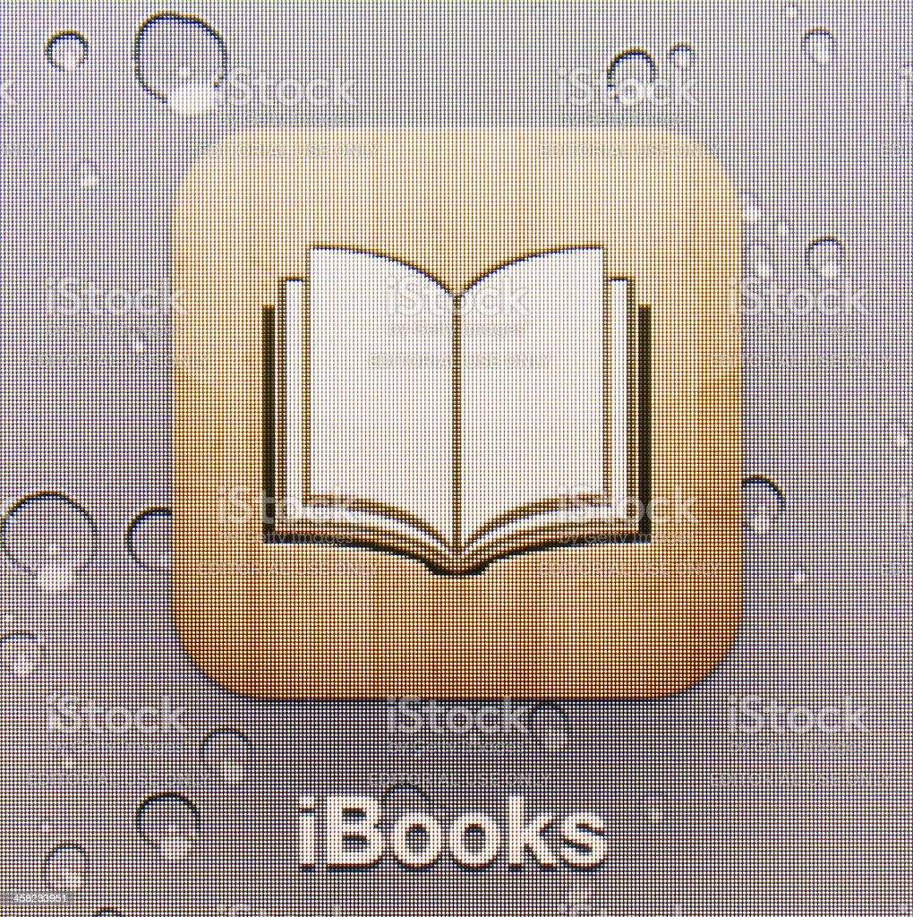 iBooks royalty-free stock photo
