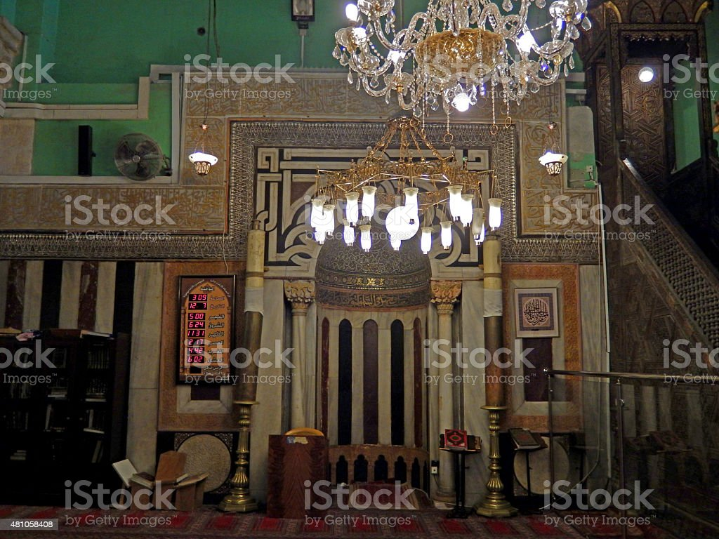 Ibrahim Mosque, Hebron, Palestine stock photo