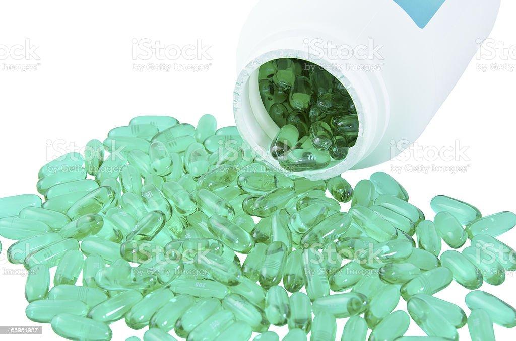 Ibuprofen stock photo