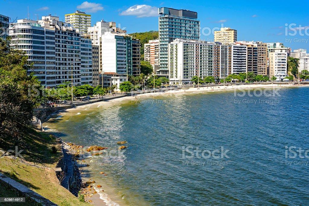 Icarai beach stock photo