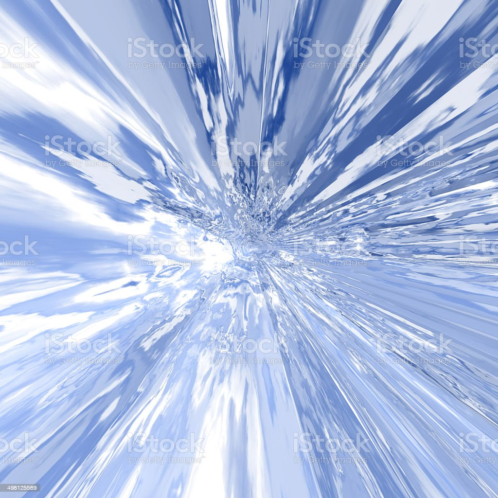 Ice abstract background stock photo