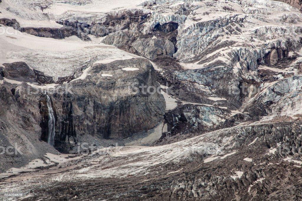 Ice Age stock photo