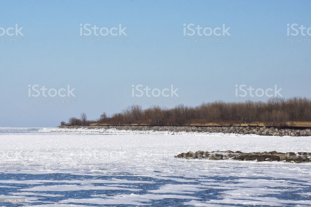 Ice and Desolation royalty-free stock photo